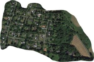 Google Earth foto af Espegård-området