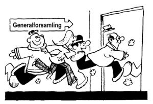 generalforsamling - løbende